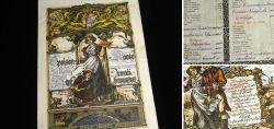 Tolles historisches Dokument der Münchner Esskultur um 1900
