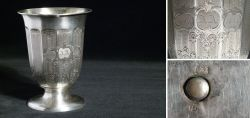 Alter Silberbecher 13 Lot 1857
