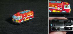 Blechspielzeug Feuerwehrauto Made in Japan