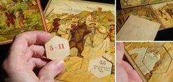 Denkspiel in Puzzle-Form vor 1945