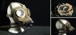 Ungarische Gasmaske für den aktiven Zivilschutz 1976