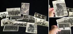 Motiv Zirkus – 11x SW Ansichtskarten und Fotografien 1950