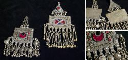 2 Schmuckstücke aus Turkmenistan Mitte 20. Jahrhundert