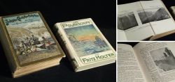 Two old travel books around 1900