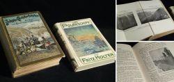Zwei alte Reisebücher um 1900
