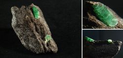 Beryll-Smaragdstufe aus dem Habachtal