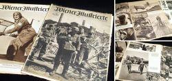 """2x Zeitungen """"Wiener Illustrierte"""" aus dem 2. Weltkrieg"""