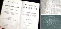 Altes Löffler Kochbuch 1873