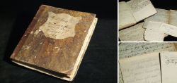 Handwritten cookbook from 1827