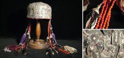 Antique headgear for women around 1900
