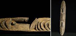 Schnitzerei der Kwoma aus Papua-Neuguinea Mitte 20. Jahrhundert