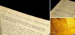 Originales DNB-Dienstblatt aus 1941