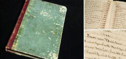 Handgeschriebenes Kochbuch um 1830