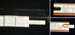 Russian slide rule