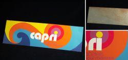 Capri bracelets pour montres 60er - 70 Jahre