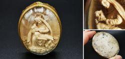 Antike Klosterarbeit mit Michelangelos