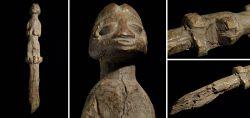Guardian figure Botchio rom the Ewe/Fon tribe Ghana/Togo 1960 - 1970