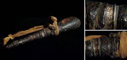 Medizinbehälter aus Horn vermutlich Westafrika erste Hälfte 20. Jahrhundert