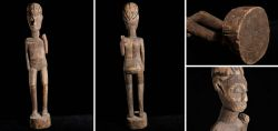 Large hand-carved standing figure Ghana 1970 - 1980