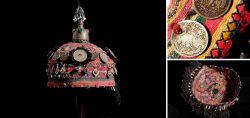 Mädchen-Haube der Turkmenen 1. Hälfte 20. Jahrhundert