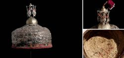 Rare bridal hood of the Ersari Turkmen, around 1900