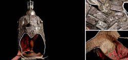 Kopfschmuck aus Turkmenistan Ende 19. Jahrhundert