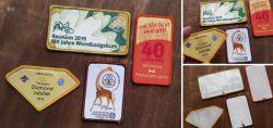 Kleines Konvolut Pfadfinder-Badges