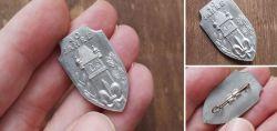 Pfadfinder Abzeichen aus Aluminium