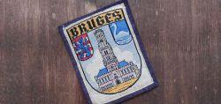 Stadt in Belgien mit Stadtwappen