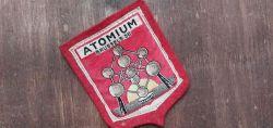 Atomium Brussels 58 mit Abbildung der Weltausstellung 1958