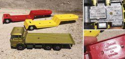 Konvolut Spielzeug LKW Building Transporter  LKW-Anhänger