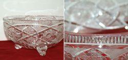 Bleikristall Schüssel (Bohemian Crystal Glas)...