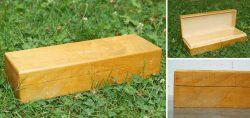 Kleine Holzschatulle