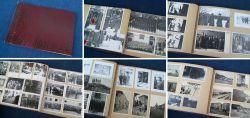 Historisches Fotoalbum aus der Kriegszeit