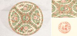 Richly painted and decorative collector´s plate