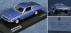 Ford Mustang Bright dark blue metallic