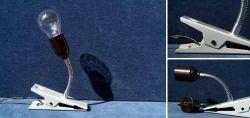 Little clamp lamp