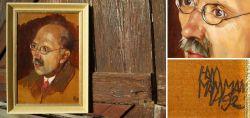 Ölgemälde - Männerportrait 1925