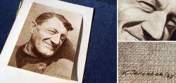 Handzeichnung aus Kriegszeiten
