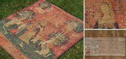 Historischer Wandteppich - Die Dame mit dem Einhorn