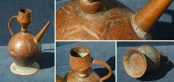 Orientalische Kupferkanne