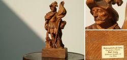 Heiliger Florian - Holzfigur