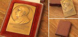Medaille/Plankette in Bronze