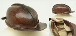 Originaler Bergbauhelm um 1930