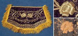 Osmanischer Dekorstoff 19/20 Jahrhundert