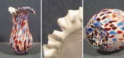 Vase im Murano Stil